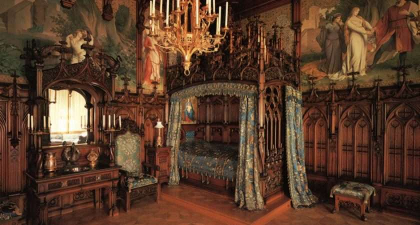 Victorian Bedrooms Homes Antique Gothic