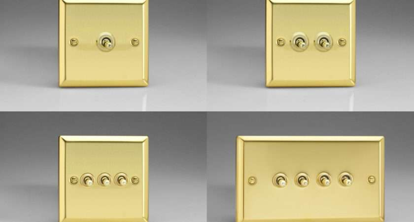 Victorian Brass Toggle Light Switches Amp Way Gang