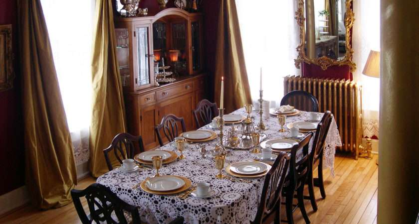 Victorian Dining Rooms Marceladick