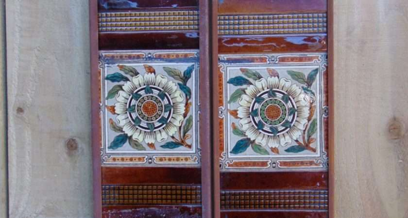 Victorian Fireplace Tiles Old Fireplaces