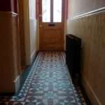 Victorian Hallway Mosaic Tile Path Internal Entrance