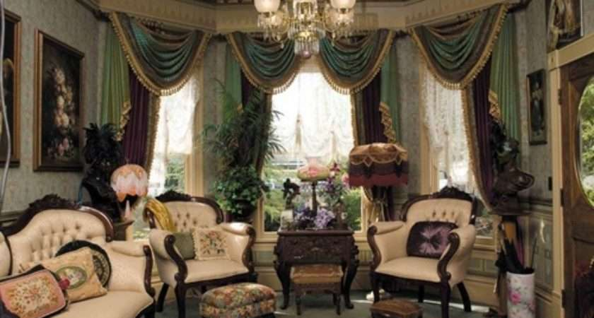 Victorian Living Room Curtain Ideas Style