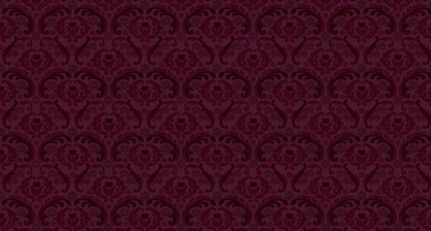 Victorian Pattern Red