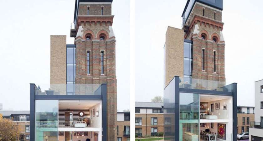 Victorian Water Tower Conversion Has Grand Designs