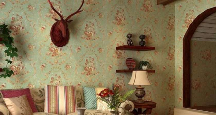Vintage American Country Style Flower New Home