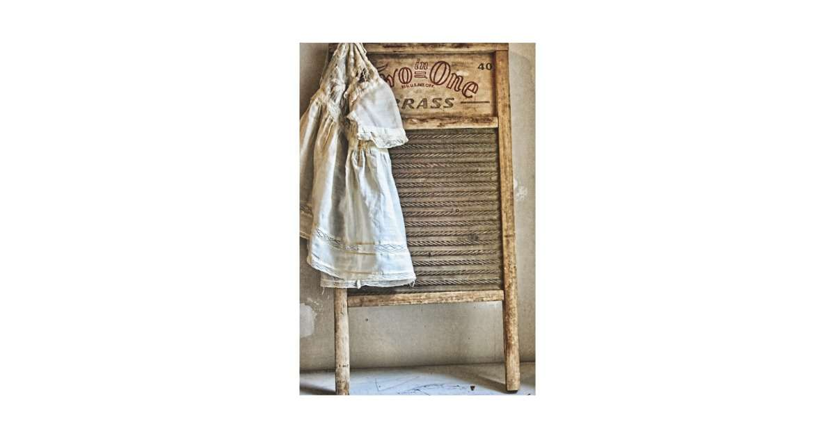 Vintage Antique Laundry Room Decor Canvas Prints Zazzle