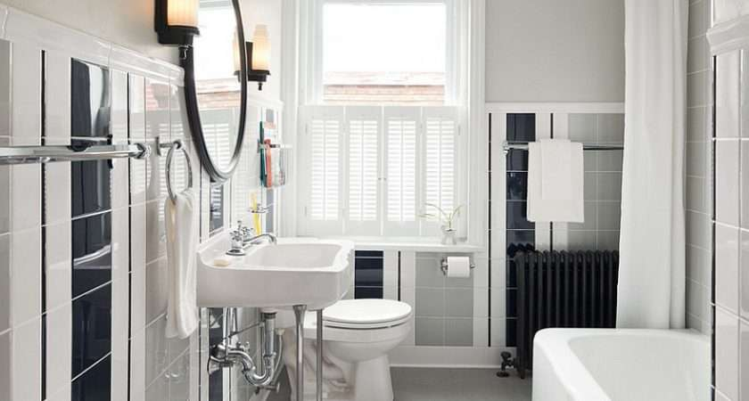 Vintage Bathroom Vanity Australia Black White Bathrooms Design