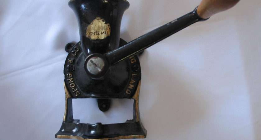 Vintage Spong Coffee Mill Made England Thebarnmouse
