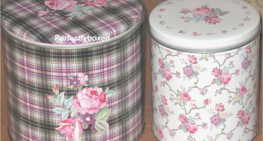 Vintage Storage Tins Perfectlyboxed