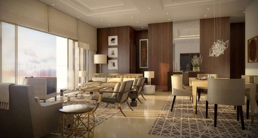 Visuals Living Dining Room Luxury Central London Bedroom