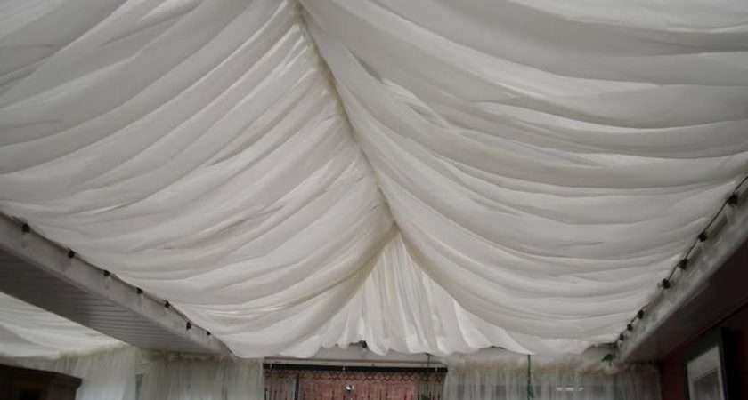Voile Curtain Attached Conservatory Roof Moroccan Tent