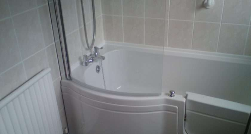 Walk Shower Bath Complete Curved Screen Comes