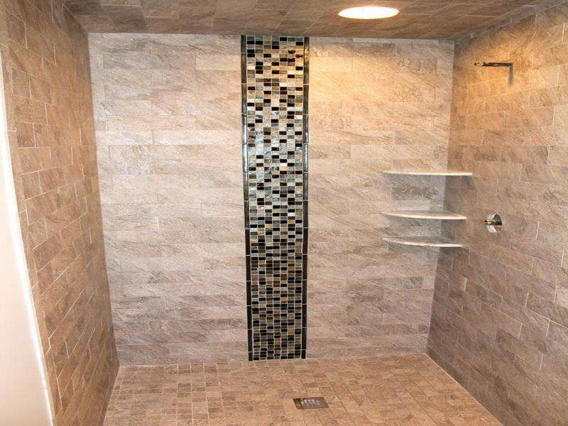Walkinshowertileideas Shower Tile Ideas Pattern Houseinnovator