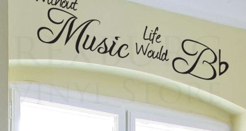 Wall Decal Sticker Quote Vinyl Art Lettering Design Decoration Without