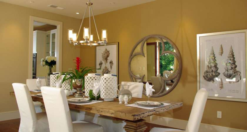 Wall Decor Dining Room Area