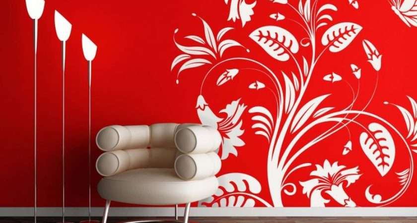 Wall Designs Impress Your Visitors Interior Design Inspiration