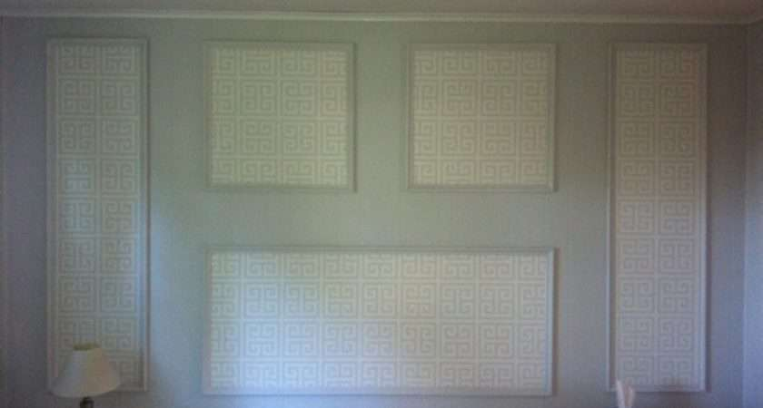 Wallpapering Over Paneling