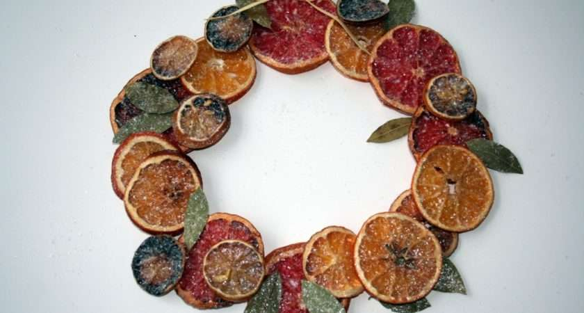 Want Make Wreath Glue Glittered Pieces Either