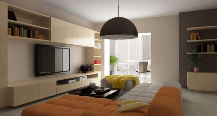 Warm Color Living Room Inspired Home Designs