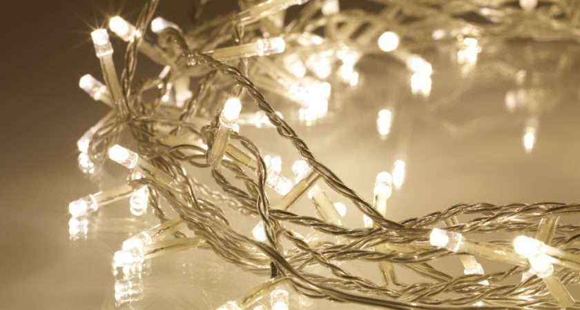 Warm White Fairy Lights Leds Clear Cable