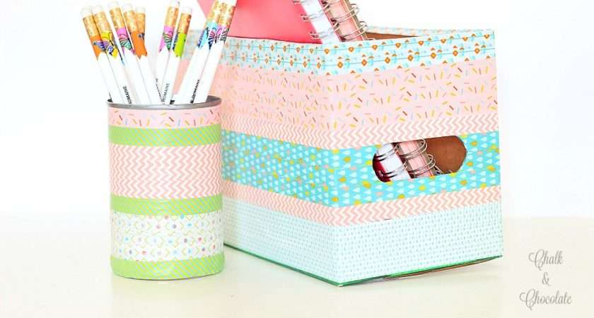 Washi Tape Crafts Book Review Project Announcement