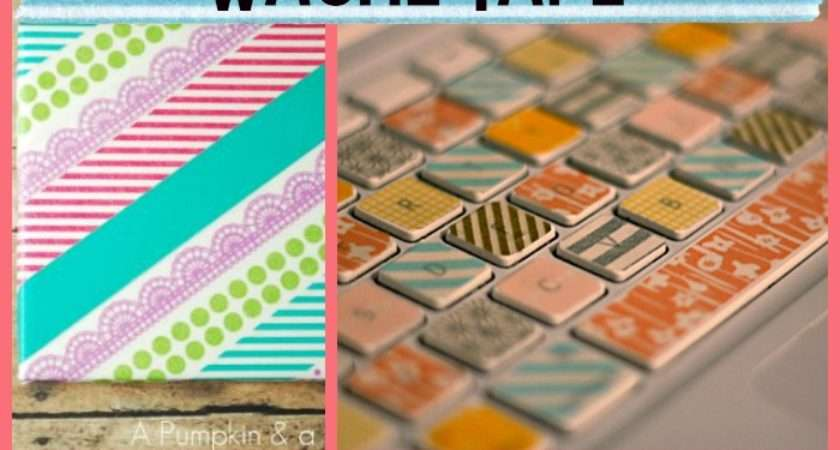 Washi Tape Diy Little Craft Your Day