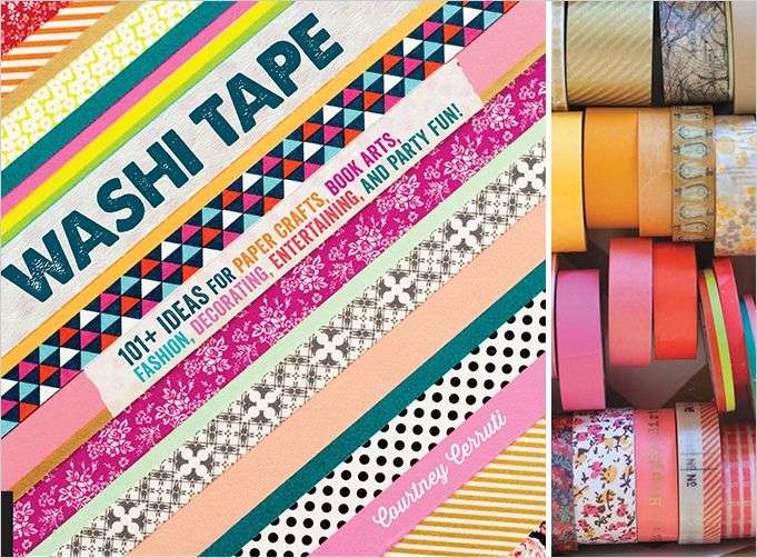 Washi Tape Ideas Rue Crafts Craft Pinterest