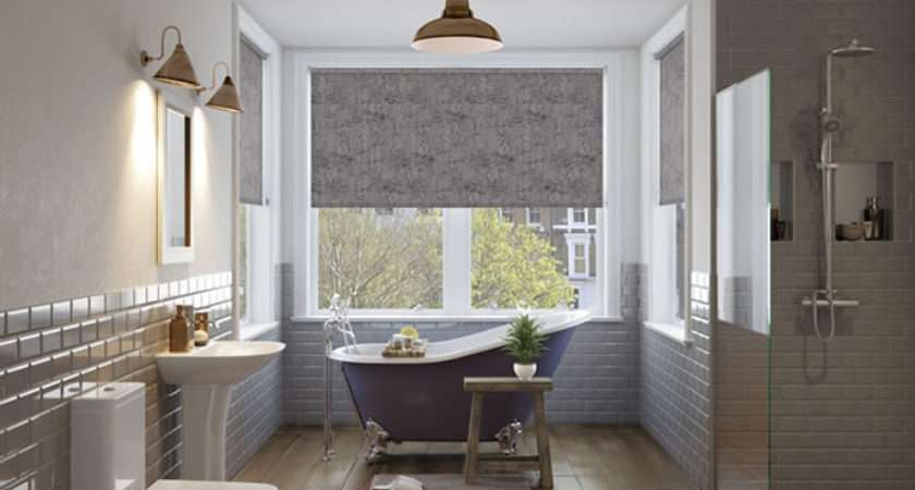 Waterproof Bathroom Blinds