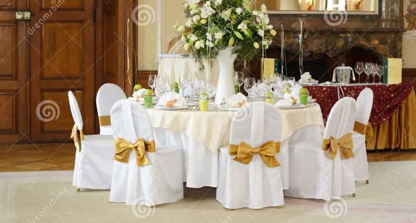 Wedding Table Setting Examples Dining Room Formal