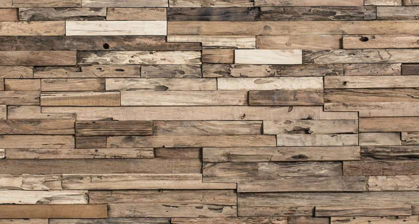 Weekend Diy Project Recycled Wood Wall Feature