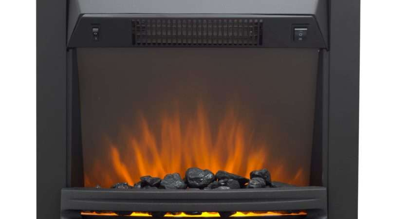 Westerly Black Led Electric Fire Departments Diy