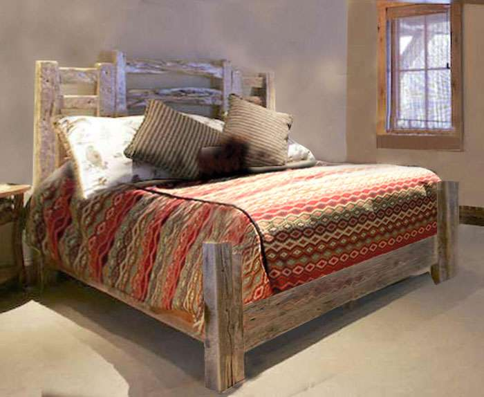 Western Style Beds Cowboy Bedroom Furniture Fort Worth Yard