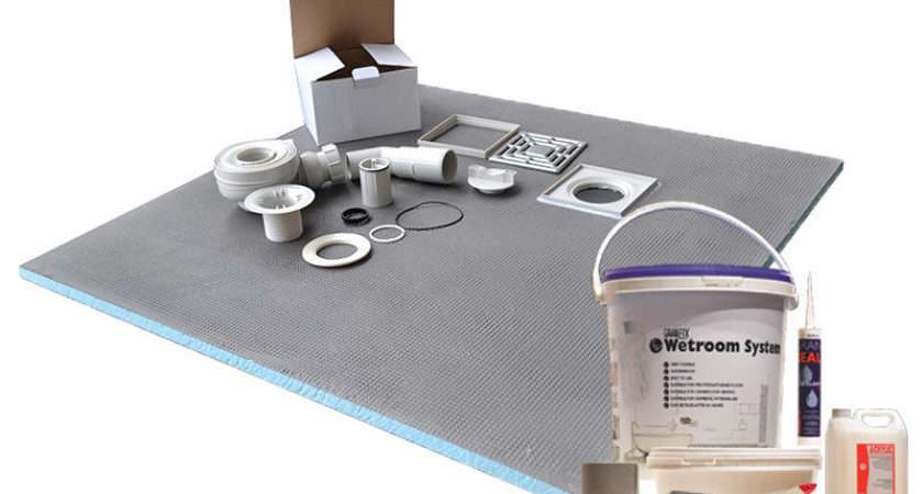 Wet Room Shower Tray Kit Tanking All Sizes Available Special