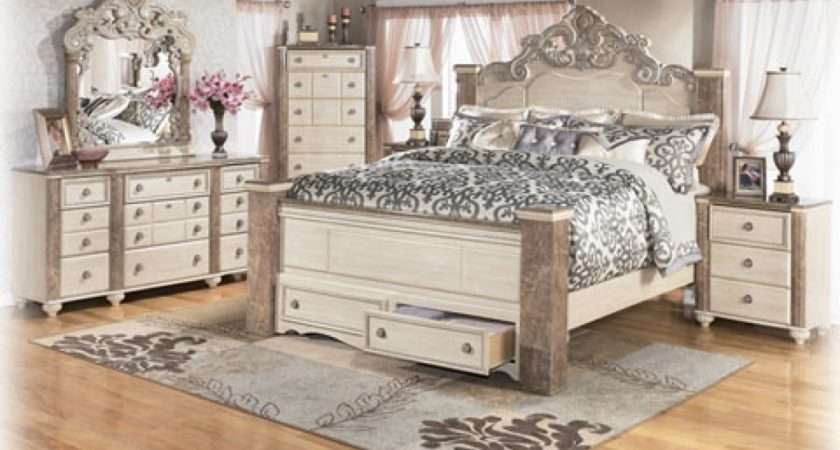 White Antique Bedroom Furniture Sets Collections