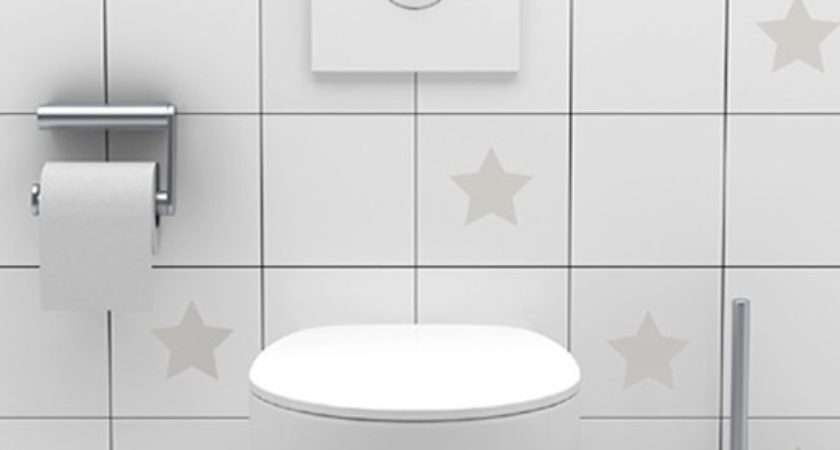 White Bathroom Tile Stickers Ideas