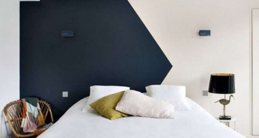 White Bedroom Walls Feature