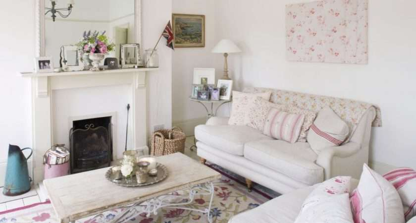 White Bright Shabby Chic Part Modern House