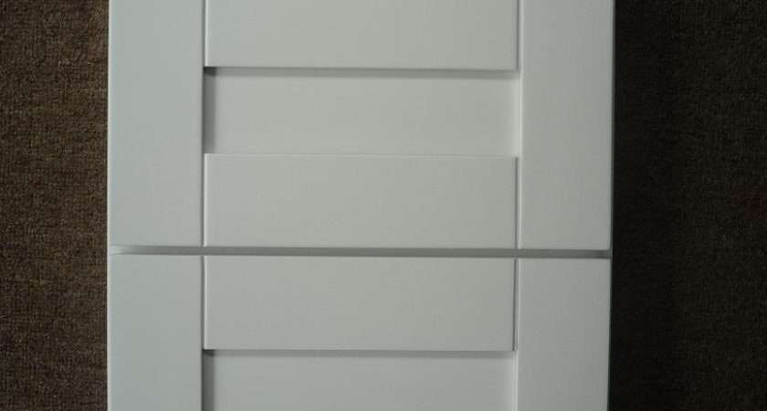 White Cabinets Shaker Door Style Discounted Kitchen Diy