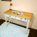 White Country Pine Desk French Style Color