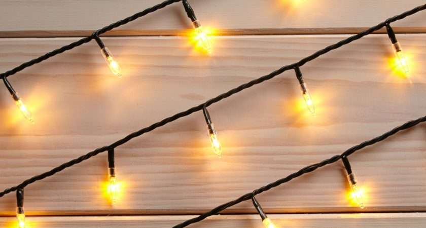 White Led Fairy String Lights Departments Diy