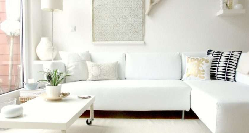 White Living Room Furniture Small