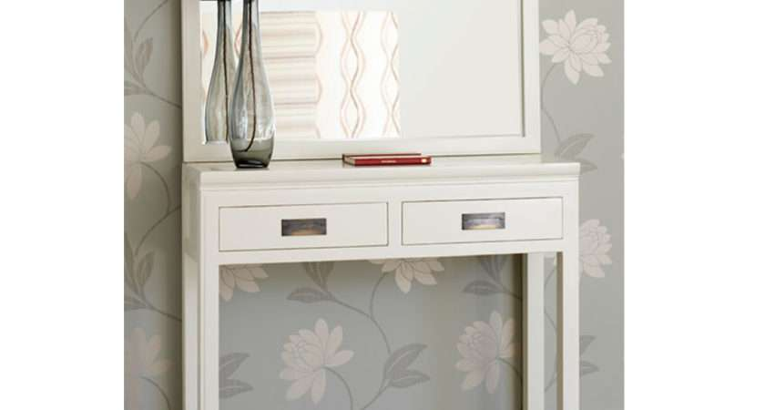 White Narrow Console Table Fancy Your Living Room Together