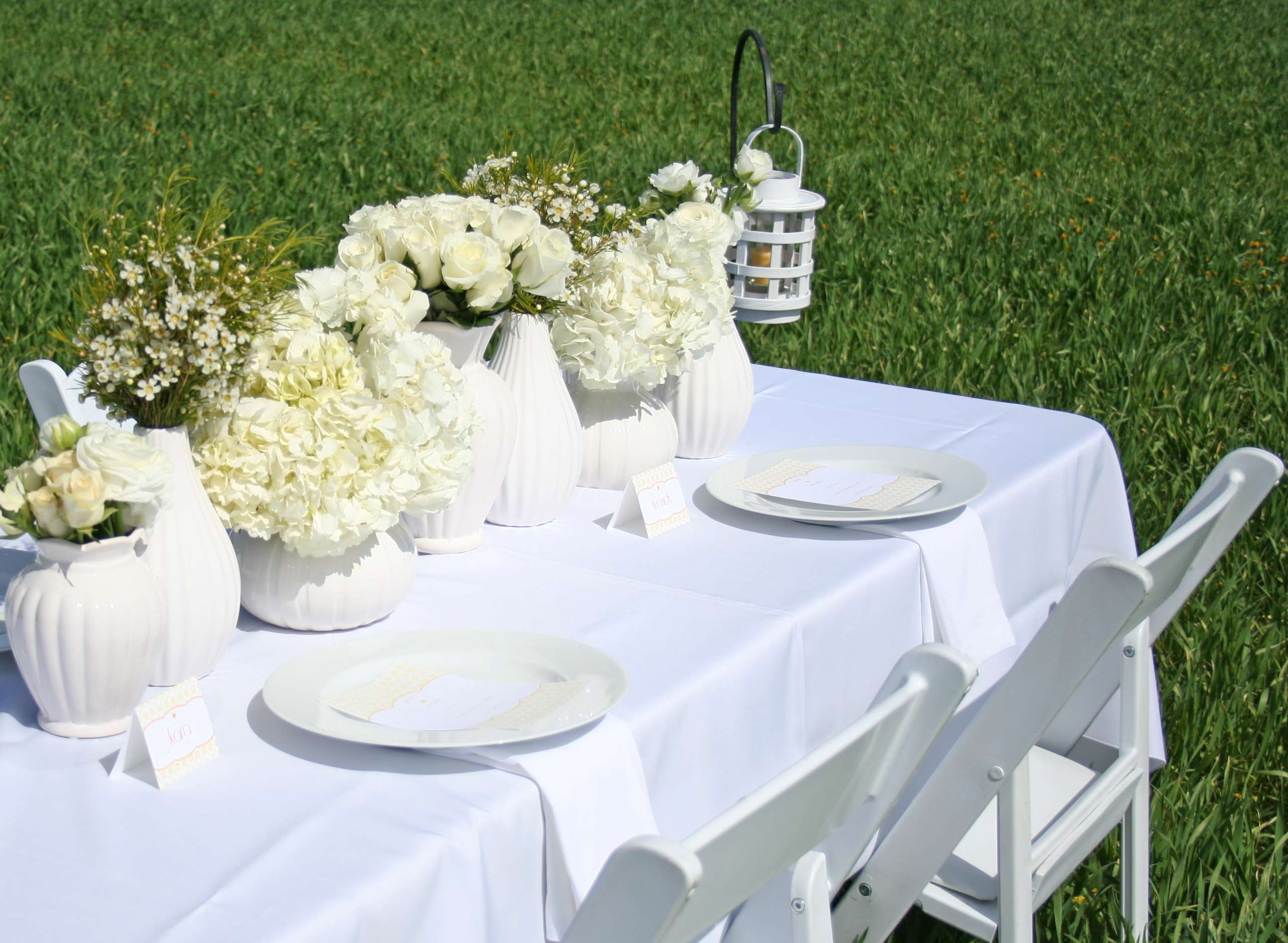White Party Ideas Spring Brunch Thoughtfully Simple