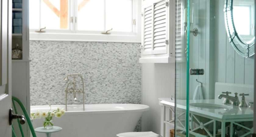 White Small Bathroom Design Ideas Green Chair