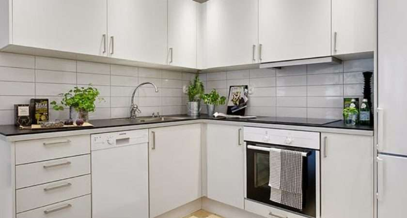 White Small Kitchen Designs Decorating Ideas