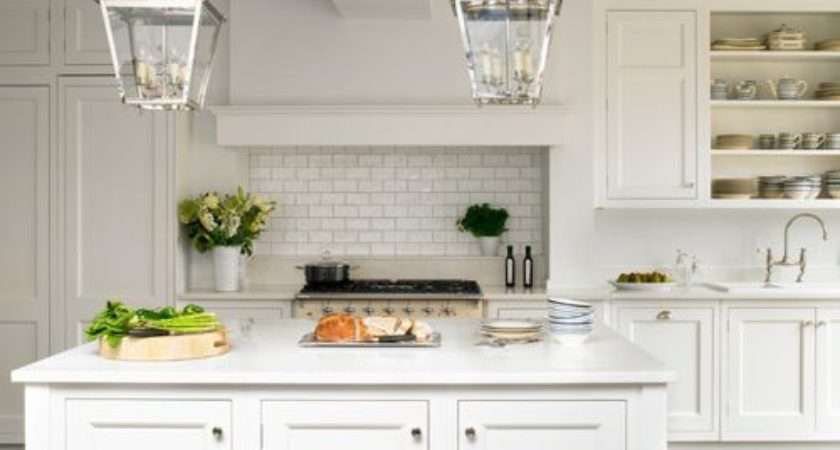 White Traditional Kitchens Home Design Ideas