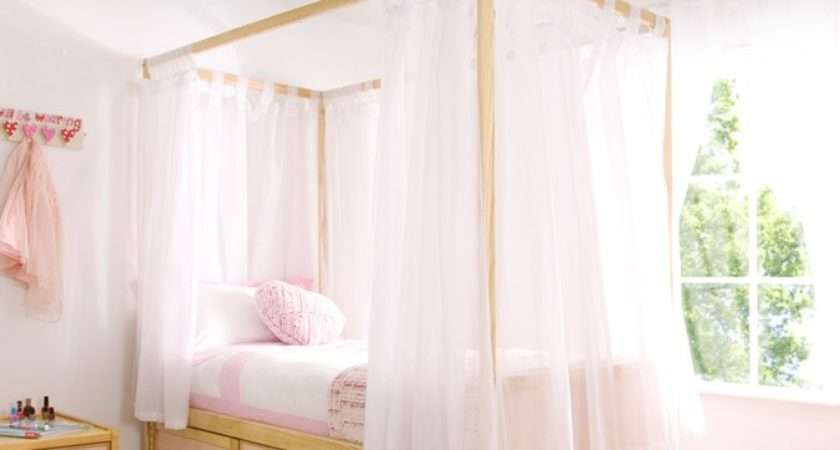 White Voile Curtains Childrens Bed Centres
