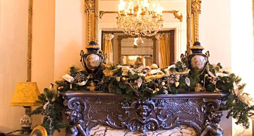 Whole Bunch Christmas Mantel Decorating Ideas Style