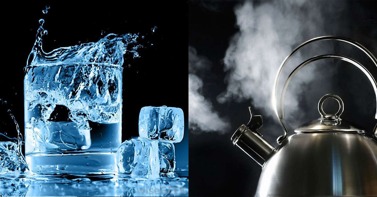Why Does Ice Cold Steaming Hot Water Taste Better
