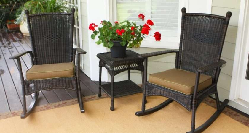 Wicker Rocking Chairs Discount Outdoor Table